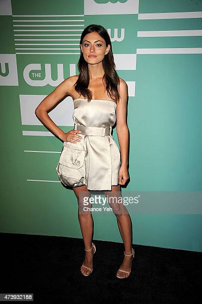 Phoebe Tonkin attends The CW Network's New York 2015 Upfront Presentation at The London Hotel on May 14 2015 in New York City