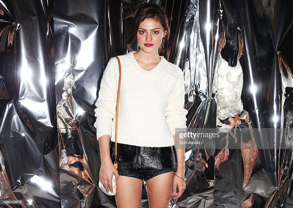 Phoebe Tonkin attends the Ellery show during Mercedes-Benz Fashion Week Australia Spring/Summer 2013/14 at an offsite venue on April 9, 2013 in Sydney, Australia.