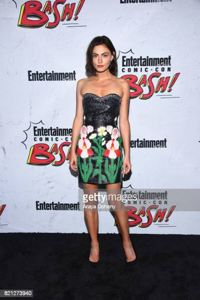 Phoebe Tonkin attends the Entertainment Weekly's Annual ComicCon Party 2017 at Float at Hard Rock Hotel San Diego on July 22 2017 in San Diego...