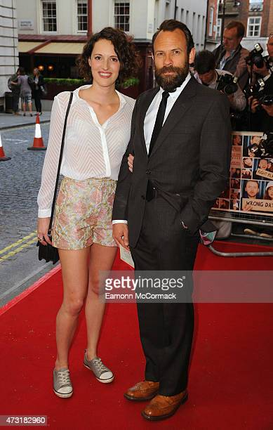 Phoebe WallerBridge and Keir Charles attend the UK Gala screening of 'Man Up' at The Curzon Mayfair on May 13 2015 in London England