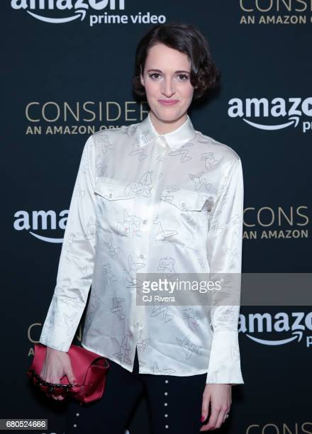 Phoebe WallerBridge attends Amazon 'Fleabag' Emmy For Your Consideration Event Special Screening at The Metrograph on May 8 2017 in New York City