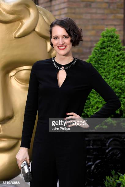 Phoebe WallerBridge attends the British Academy Television Craft Awards on April 23 2017 in London United Kingdom