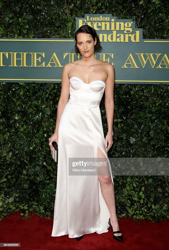 Phoebe Waller-Bridge attends the London Evening Standard Theatre Awards at Theatre Royal on December 3, 2017 in London, England.