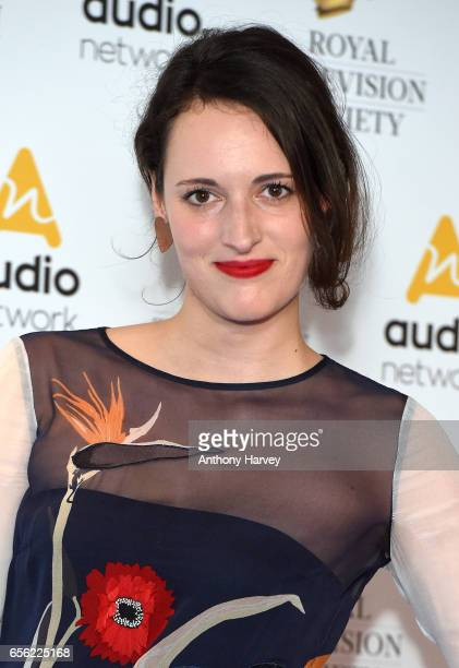 Phoebe WallerBridge attends the Royal Television Society Programme Awards on March 21 2017 in London United Kingdom
