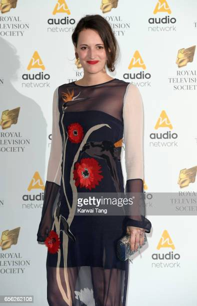 Phoebe WallerBridge attends the Royal Television Society Programme Awards at the Grosvenor House on March 21 2017 in London United Kingdom