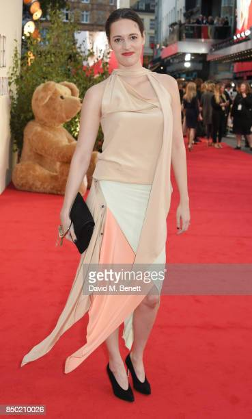 Phoebe WallerBridge attends the World Premiere of 'Goodbye Christopher Robin' at Odeon Leicester Square on September 20 2017 in London England