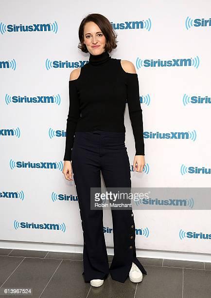 Phoebe WallerBridge visits at SiriusXM Studio on October 11 2016 in New York City
