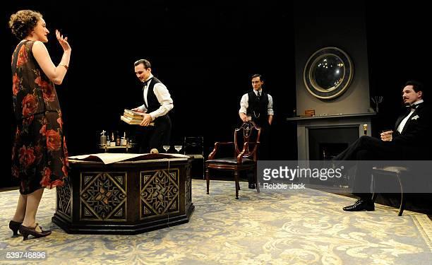Phoebe WalterBridge as Leila ArdenHenry LloydHughes as Kenneth Raglan Blake Ritson as Wyndham Brandon and Bertie Carvel as Rupert Cadell in the...