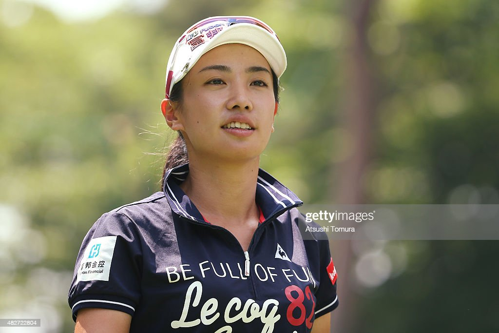 <a gi-track='captionPersonalityLinkClicked' href=/galleries/search?phrase=Phoebe+Yao&family=editorial&specificpeople=12771515 ng-click='$event.stopPropagation()'>Phoebe Yao</a> of Taiwan looks on during the final round of the Daito Kentaku Eheyanet Ladies 2015 at the Narusawa Golf Club on August 2, 2015 in Narusawa, Japan.