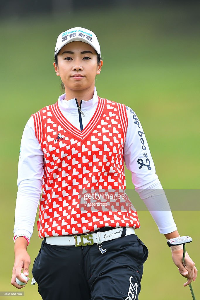 <a gi-track='captionPersonalityLinkClicked' href=/galleries/search?phrase=Phoebe+Yao&family=editorial&specificpeople=12771515 ng-click='$event.stopPropagation()'>Phoebe Yao</a> of Taiwan looks on during the second round of the Fujitsu Ladies 2015 at the Tokyu Seven Hundred Club on October 17, 2015 in Chiba, Japan.