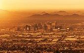 City of Phoenix Arizona Cityscape. United States of America.