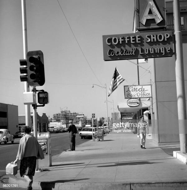 Phoenix Avenue of the downtown area April 1964