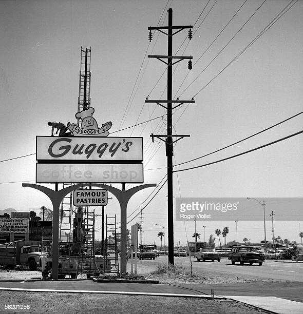 Phoenix Billboard along a road April 1964