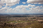 South Mountain Park locates in Phoenix, Arizona.It's the largest municipal park in the United States, one of the largest urban parks in North America. It has been designated as a Phoenix Point of Prid