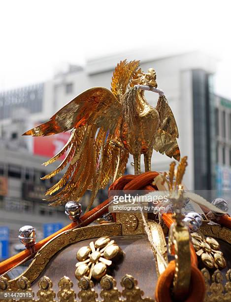 Phoenix decoration of Mikoshi