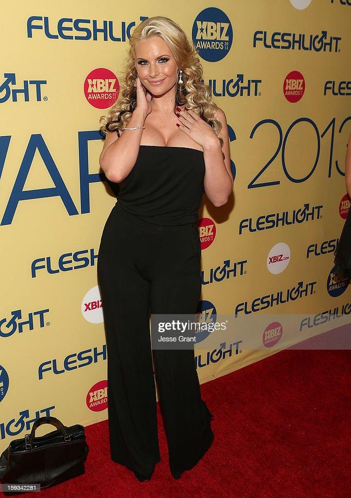 Phoenix Marie attends the 2013 XBIZ Awards at the Hyatt Regency Century Plaza on January 11, 2013 in Los Angeles, California.