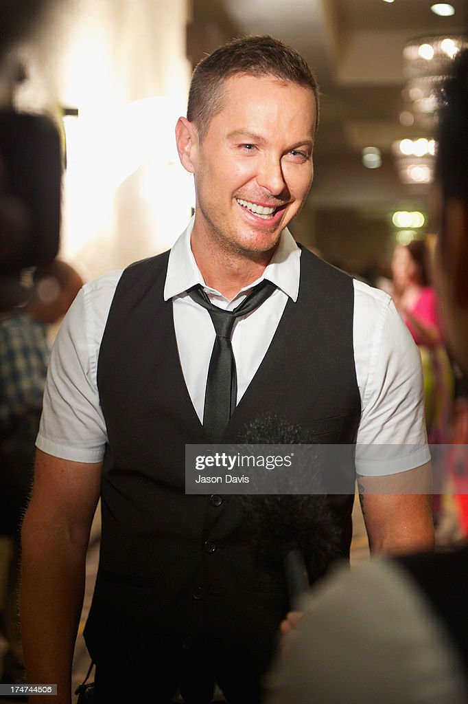 Phoenix Stone attends the Agape Animal Rescue 5th Annual Glitter & Glam gala at the Hutton Hotel on July 28, 2013 in Nashville, Tennessee.