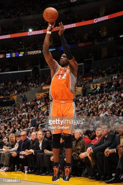 Phoenix Suns small forward Mickael Pietrus during a game against the Los Angeles Lakers at Staples Center on March 22 2011 in Los Angeles California...