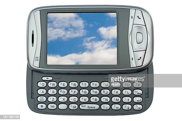 PDA-Telefon (mit 2-Schneidepfade) eigene Bilder