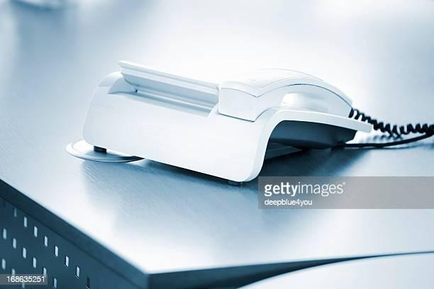 Phone on desktop