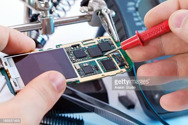Téléphone du Service de réparation