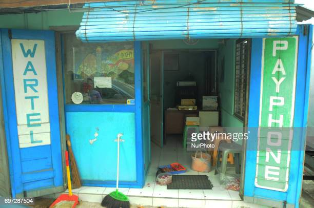 Phone stalls that are still intact with complete equipment with closed room booth but the presence is still maintained in the densely populated area...