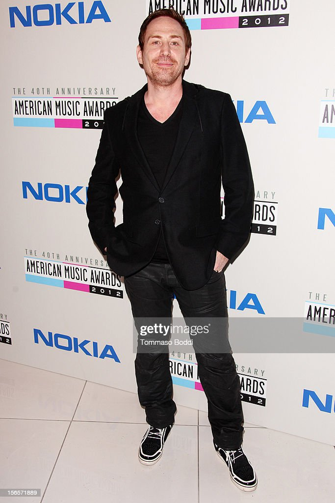 <a gi-track='captionPersonalityLinkClicked' href=/galleries/search?phrase=Photek&family=editorial&specificpeople=8857431 ng-click='$event.stopPropagation()'>Photek</a> attends the 40th Anniversary of American Music Awards Electronic Dance Music Celebration held at the Club Nokia on November 16, 2012 in Los Angeles, California.