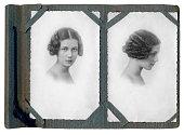Photo album of young women in 1934