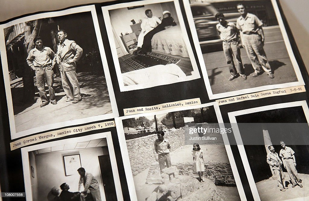 A photo album with vintage photographs of gay couples is displayed during the grand opening of the Gay, Lesbian, Bisexual and Transgender History Museum on January 12, 2011 in San Francisco, California. The country's first gay history museum opened in San Francisco's Castro district today and features hundreds of items including Harvey Milk's megaphone, documents, a collection of sex toys and multimedia presentaions.