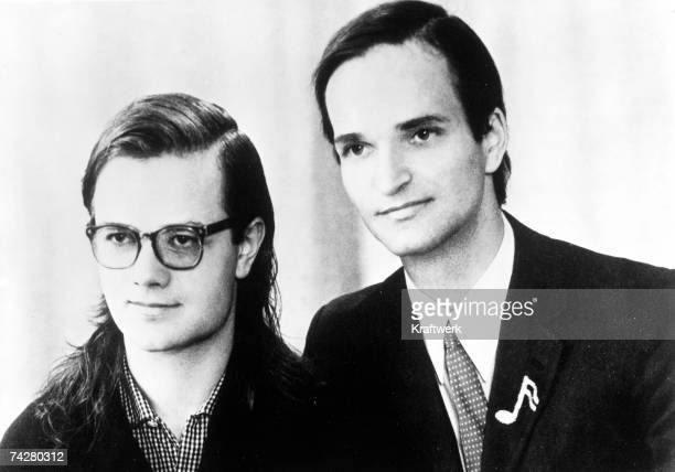 Photo by Franck/Kraftwerk/Getty Images CIRCA 1973 of the German electronic group Kraftwerk pose for a portrait circa 1973