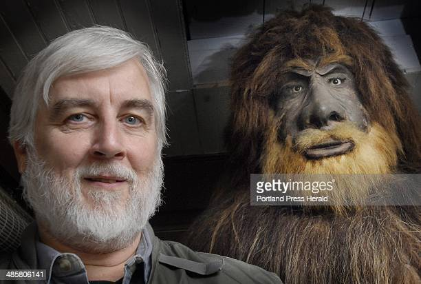 Photo by Shawn Patrick Ouellette/Staff Photographer Loren Coleman of the International Cryptozoology Museum has a model of Bigfoot at his home in...