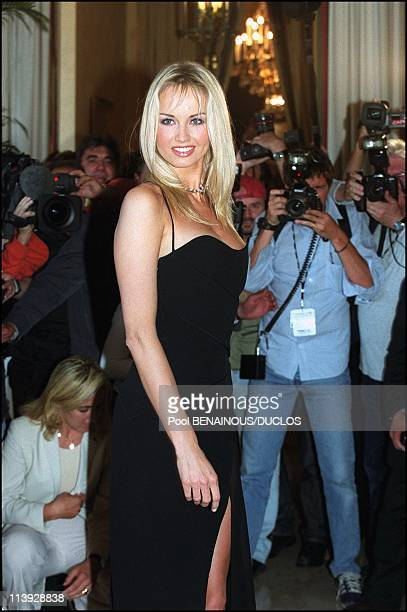 Photo Call Adriana Karembeu Ambassadress For Chopard In Cannes France On May 10 2000