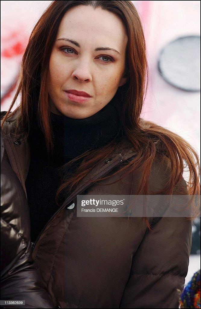 Photo Call Fantastic'Art 2005 On January 27Th, 2005 In Gerardmer, France - Marina De Van, Comedian, Scenarist, And Director.