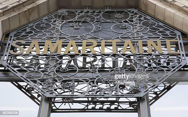 Photo date du 15 juin 2005 du magasin parisien de la Samaritaine Le groupe franais LVMH veut trouver 'un accord' avec la Fondation CognacqJay...