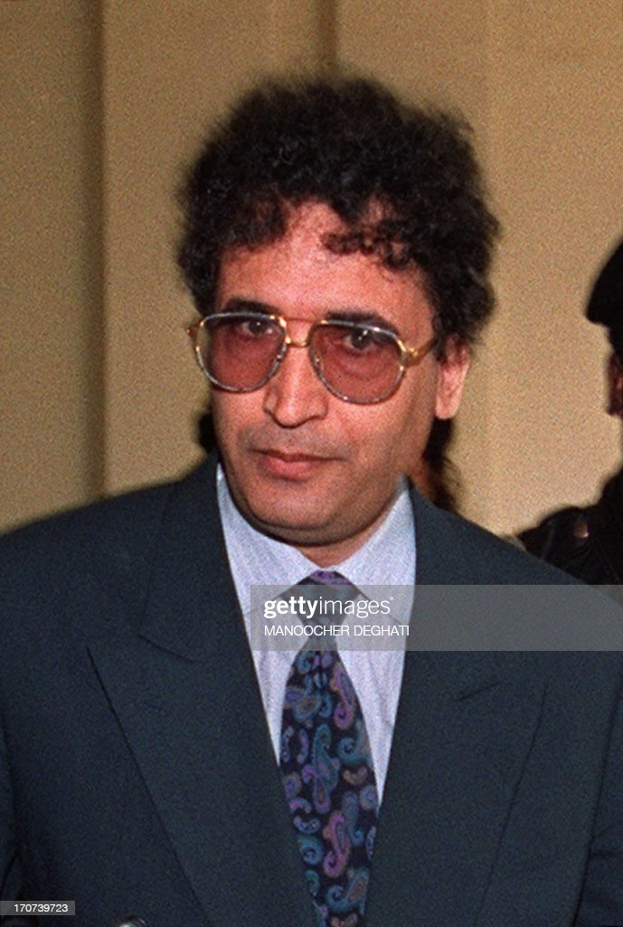 Photo dated 18 February 1992 shows Libyan <b>Abdel Basset</b> Ali el-Megrahi (C) <b>...</b> - photo-dated-18-february-1992-shows-libyan-abdel-basset-ali-elmegrahi-picture-id170739723