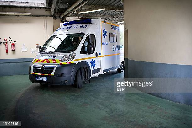 Photo Essay At Laennec Hospital In Creil France Arrival At The Emergency Ambulance Service At The Emergency Services