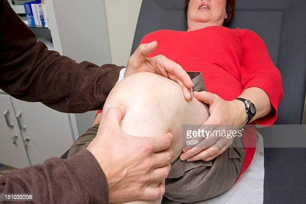 Photo Essay From Doctor's Office Nord France Suspicion Of Synovial Effusion