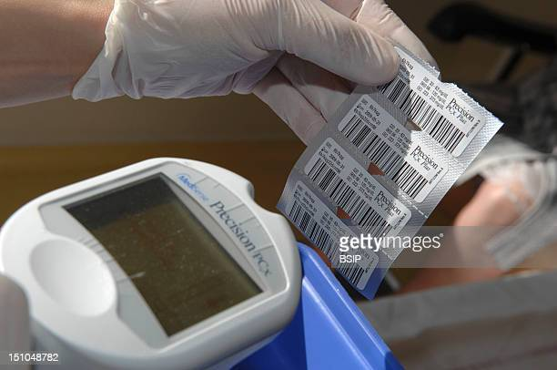 Photo Essay From The University Hospital Of Bordeaux Cardiologic Hospital Of Haut Leveque Department Of Diabetology Traceability Of Batches Of Strips...