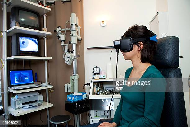 Photo Essay In A En Surgery Specialized In Vertigo In Levallois Perret France On January 2010 Vertigo Can Be Due To Disorders Of The Vestibular...