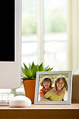 Photo Frame on Work Desk