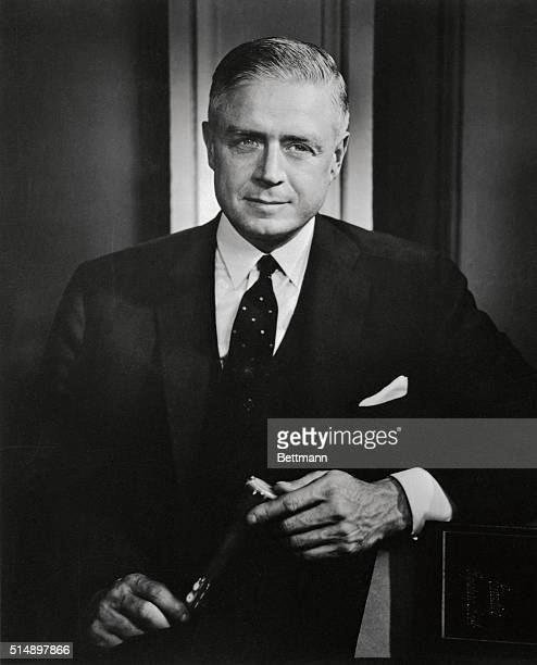 Photo is that of Thomas J Watson Jr President of the International Business Machines Corporation whose election to the Board of Trustees of The...