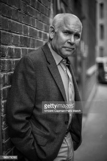 Photo journalist Steve McCurry is photographed for Paris Match on October 23 2013 in Paris France