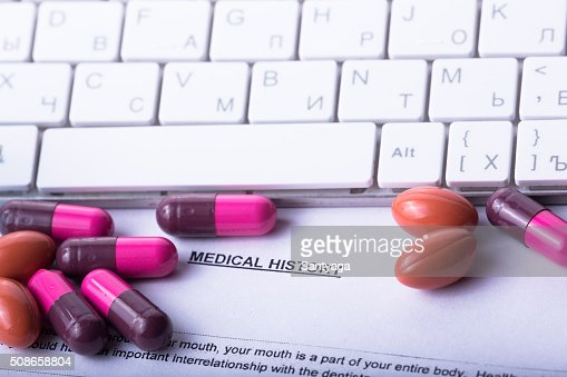 photo medical drugs to treat people : Stock Photo