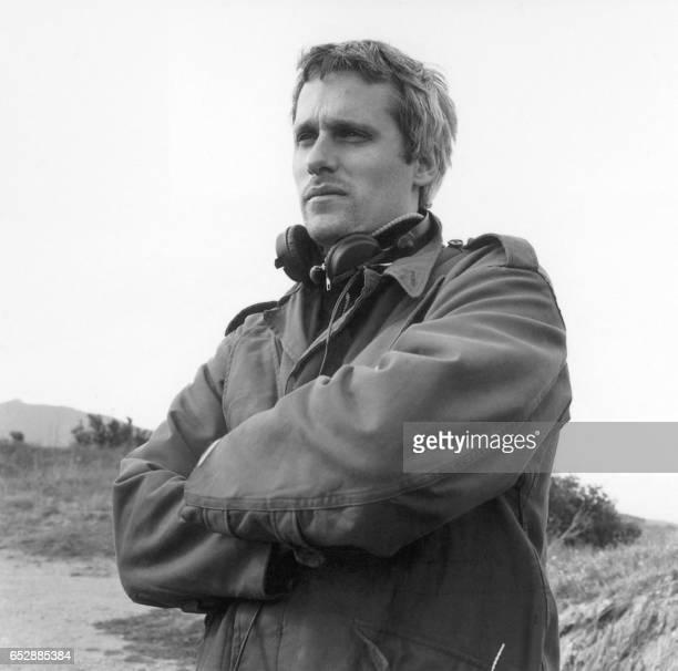 Photo montrant le réalisateur et scénariste espagnol Marc Recha dont le film 'Les Mains Vides' sort sur les écrans français le 11 février 2004 PHOTO /