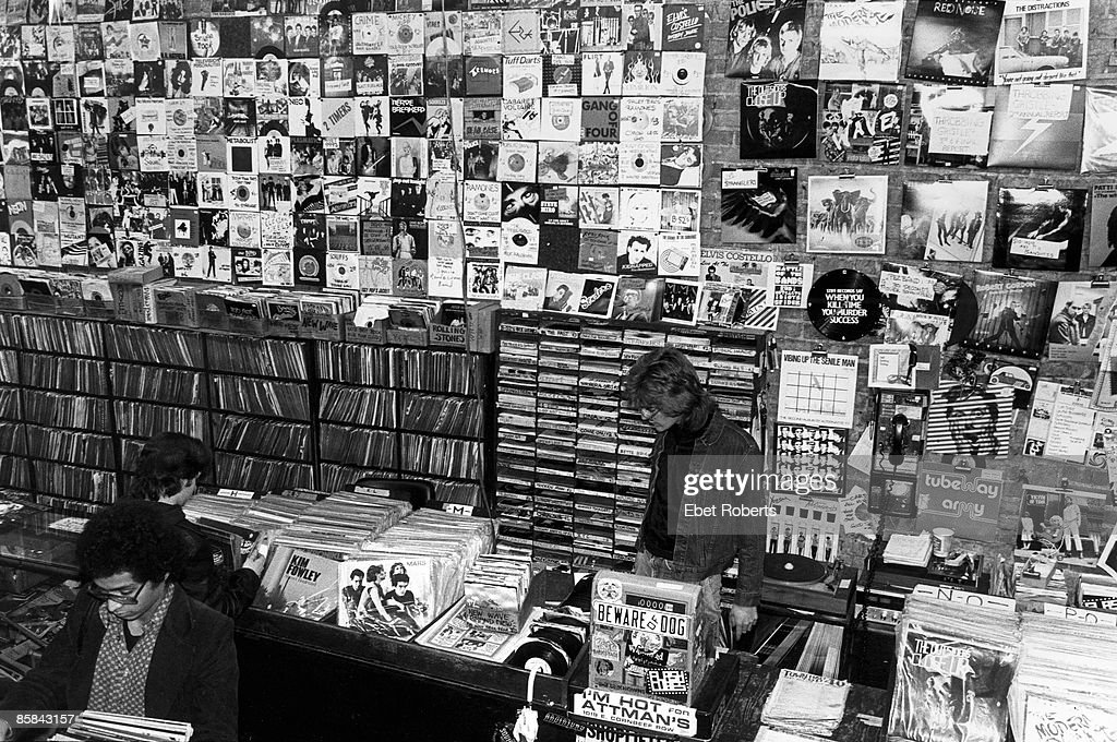 Photo of 70's and RECORD STORE; Bleeker Bob's Records