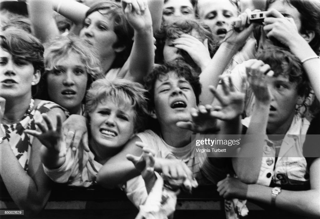 BIRMINGHAM Photo of 80'S STYLE and SCREAMING FANS and FANS, Duran Duran fans at Villa Park 23/7/1983