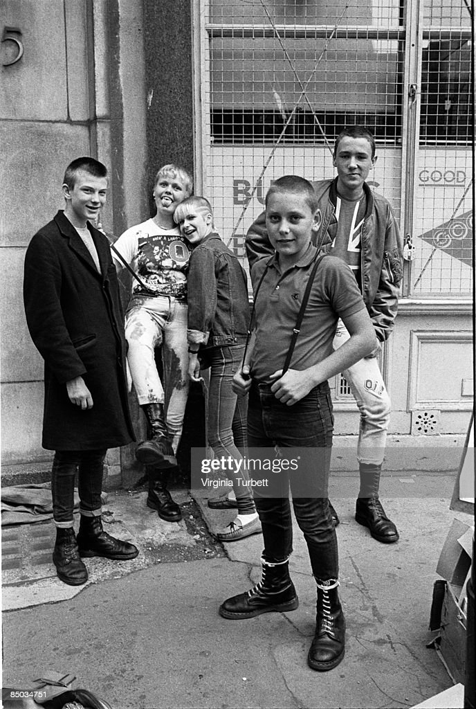 Skinhead Stock Photos And Pictures Getty Images