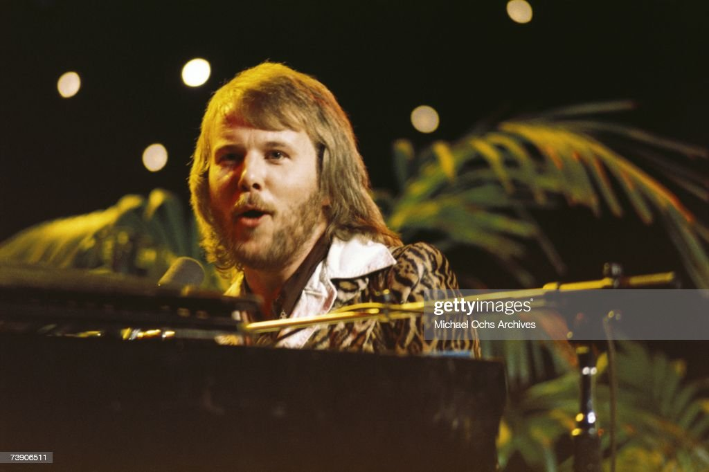 Photo of Abba. 1978, AbbaBenny Andersson.