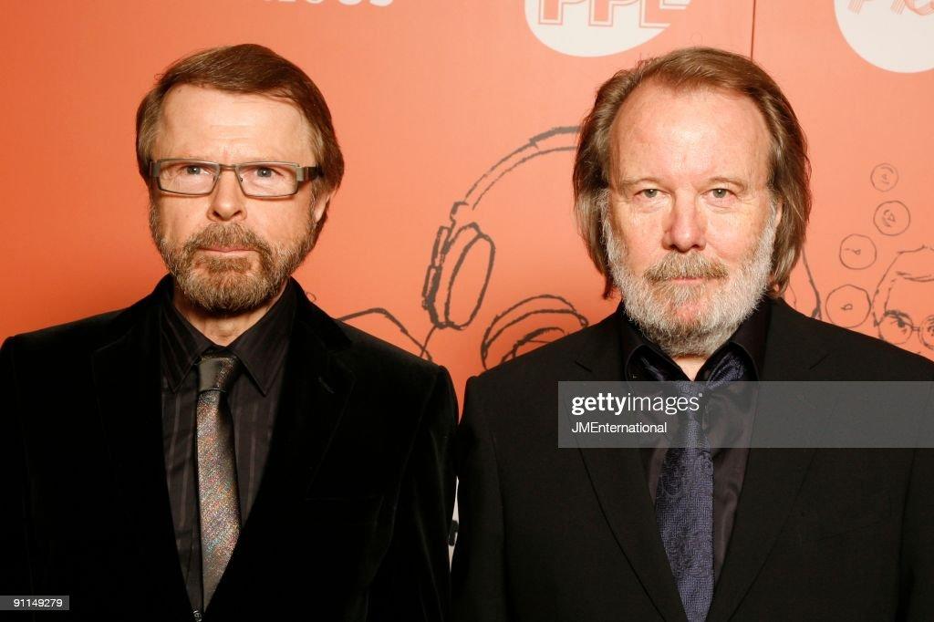 Resultado de imagen de benny and Bjorn in london grosvenor house 2008