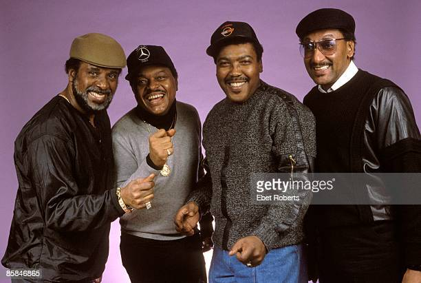 Photo of Abdul FAKIR and Renaldo BENSON and Levi STUBBS and Lawrence PAYTON and FOUR TOPS LR Levi Stubbs Renaldo 'Obie' Benson Lawrence Payton Abdul...